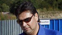 Trenér Vladimír Růžička na srazu české hokejové reprezentace