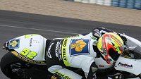 Lukáš Pešek při testech ve španělském Jerezu.