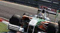 Německý jezdec formule 1 Adrian Sutil z týmu Force India