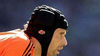 Brankář fotbalové Chelsea Petr Čech během finále FA Cupu proti Evertonu