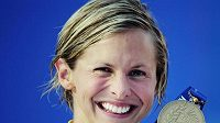 Australská plavkyně Lisbeth Trickettová