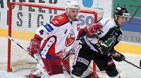 Hokejisté Havlíčkova Brodu v zápase proti Mladé Boleslavi. Archivní foto.