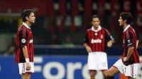 Smutní fotbalisté AC Milán