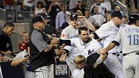 Bitka mezi baseballisty New Yorku Yankees a Toronta