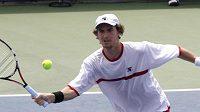 Tenista Jan Hernych na turnaji v Cincinnati