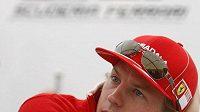 Finský pilot Kimi Räikkönen