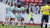 Fotbalisté Bohemians Praha se postarali o senzaci 6. kola první ligy, když vyhráli na půdě Liberce.