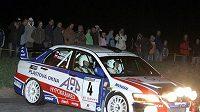 Roman Kresta (na archivním snímku z Rallye Krumlov) by neměl na startu Barum rallye chybět.