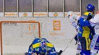Hokejisté Ústí nad Labem klesli na třetí místo v tabulce první ligy.