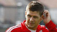 Kapitán fotbalistů Liverpoolu Steven Gerrard