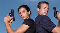Výškař Tomáš Janků a jeho přítelkyně tyčkařka Kateřina Baďurová mají rádi adrenalinovou zábavu.