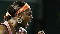 Serena Williamsová musela pro zranění odstoupit z Turnaje mistyň.