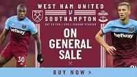 Tomáš Souček zve už nyní fanoušky West Hamu na příští démácí zápas proti Southamptonu, který se hrajhe 29. února.