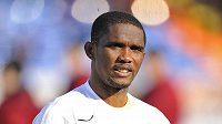 Kamerunský útočník Samuel Eto´o