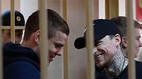 Fotbalisté Alexandr Kokorin a Pavel Mamajev čekají na ortel soudu.