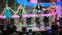 Čtvrtkařky (zleva) Denisa Rosolová, Zuzana Bergrová, Zuzana Hejnová a Jitka Bartoničková v sobě objevily i pěvecký a taneční talent.