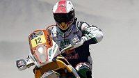 Francouzský motocyklista Pierre Cherpin je v umělém spánku