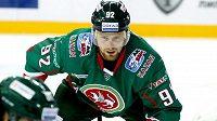Hokejista Kazaně Jiří Sekáč