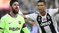 Dva nejvíce opěvovaní fotbalisté současnosti, Lionel Messi (vlevo) a Cristiano Ronaldo. Který z nich je lepší?