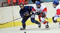 Zápas Česko - Finsko na Hlinka Gretzky Cupu.