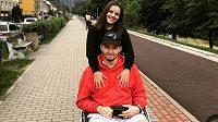 Ondřej Buchtela je odkázaný na vozík.