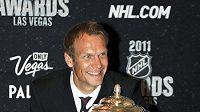 Nicklas Lidström s Norris Trophy pro nejlepšího obránce NHL