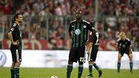 Zklamaní fotbalisté Wolfsburgu