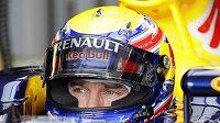 Australský pilot ze stáje Red Bull Mark Webber