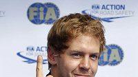 Spokojený Sebastian Vettel ze stáje Red Bull