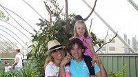 Karol Kisel s rodinou