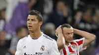 Cristiano Ronaldo se v zápase s Atlétikem zase předvedl.