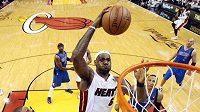 Megahvězda Miami LeBron James