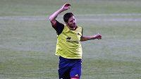 Španělský fotbalista Xabi Alonso na tréninku