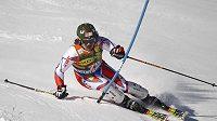 Ondřej Bank si jede ve Vald´Isere pro životní výsledek ve slalomu.