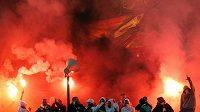 Polští fotbaloví chuligáni dělají starost organizátorům Eura 2012.