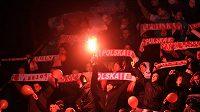 Polští radikální fanoušci