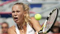 Caroline Wozniacká z Dánska zvítězila na turnali v Montrealu.
