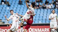 Čeští mladíci utkání o olympijský Londýn 2012 s Běloruskem v Dánsku nezvládli.
