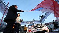Mezinárodního mistrovství České republiky v automobilových soutěžích zahájila Valašská rallye.