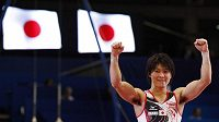 Japonský gymnasta Kohei Učimura.