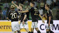 Radost fotbalistů Německa