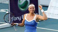 Tenistka Petra Kvitová se po vítězství na turnaji v Paříži dostala na 14. příčku v žebříčku WTA.