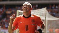 Nizozemská hvězda Arjen Robben.