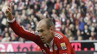 Arjen Robben z Bayernu Mnichov - ilustrační foto.