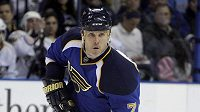 Útočník St. Louis Blues Keith Tkachuk