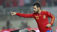 Španělský fotbalista Cesc Fabregas