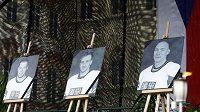 Fanoušci vzpomínají na české hokejisty, kteří zahynuli při letecké katastrofě v Rusku.
