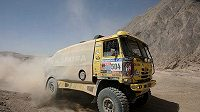 Lopraisova Tatra na trati Rallye Dakar