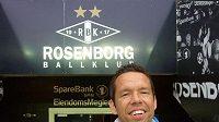 Pavel Horváth na stadionu Rosenborgu Trondheimu