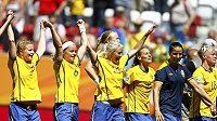 Fotbalistky Švédska získaly na MS bronz